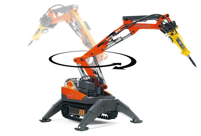 Rivningsrobot Husqvarna DXR 140